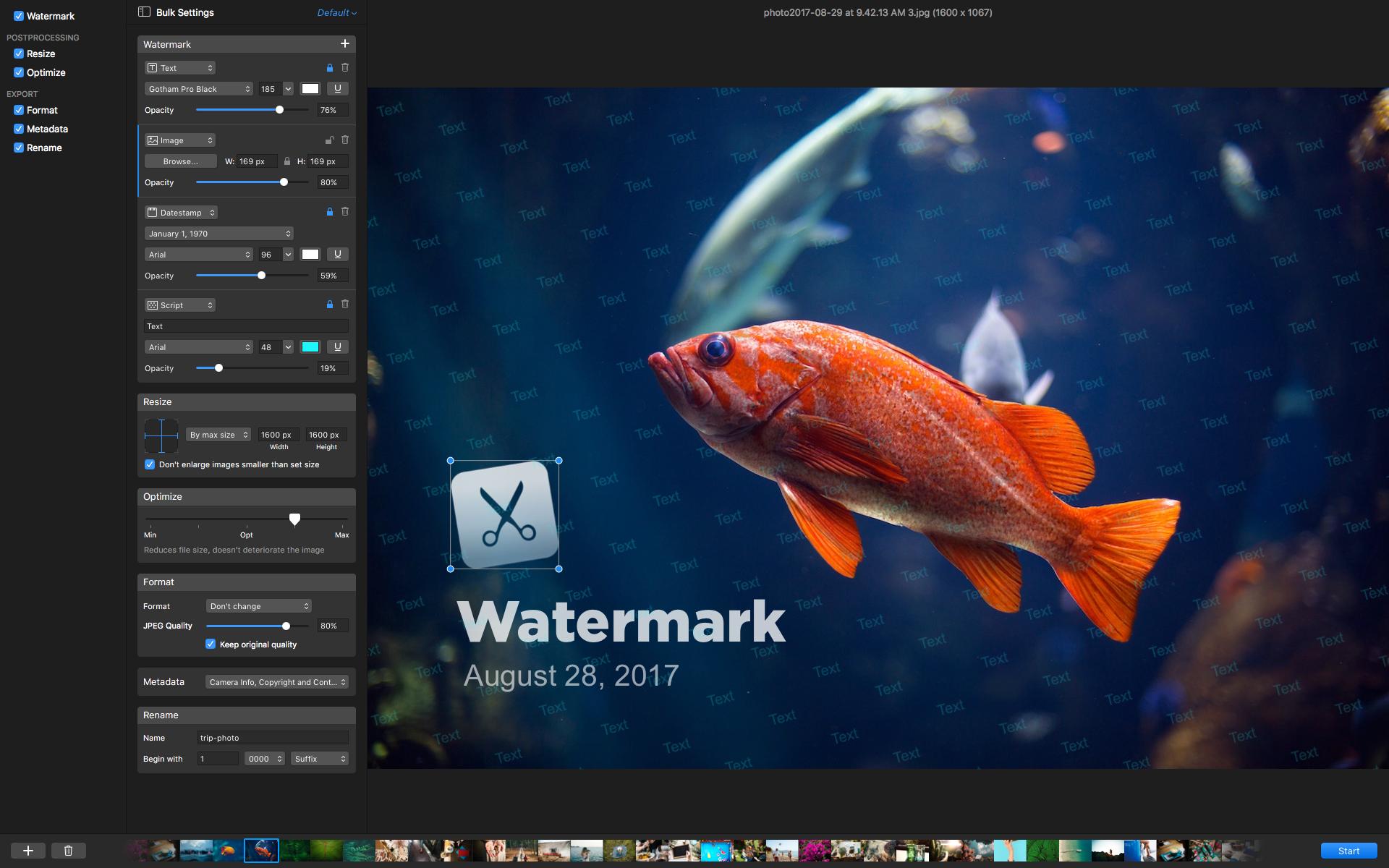 PhotoBulk for Mac 2