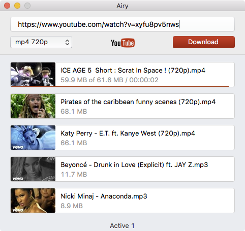 Airy 3.0 – new version of a YouTube Downloader for Mac