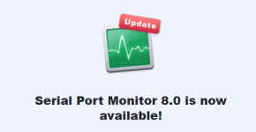 Serial Port Monitor 8.0 comes with enhanced stability and improved performance
