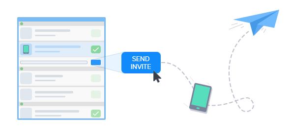 FlexiHub 3.0 - invite to share USB
