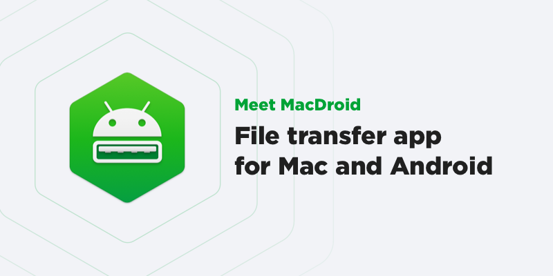 MacDroid is released!