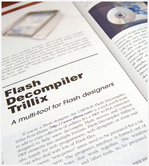 Flash Decompiler in MacTech