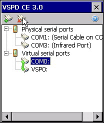 Virtual Serial Ports Driver CE screenshot