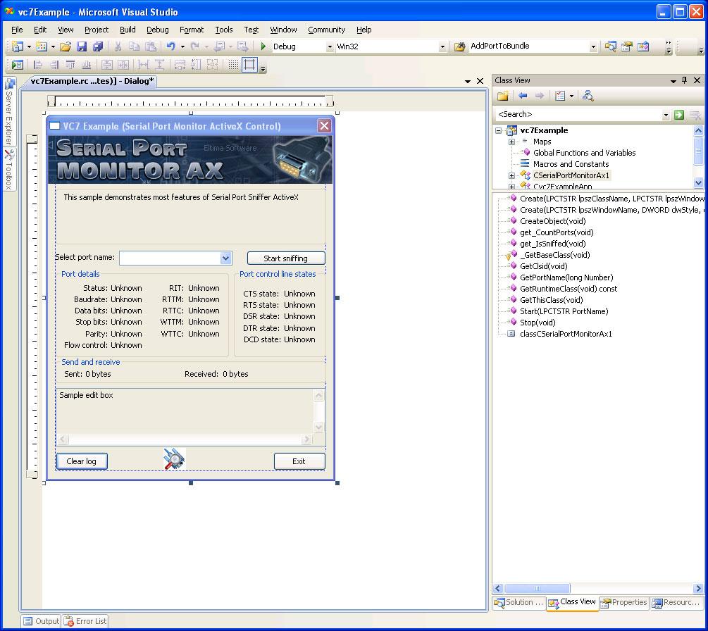 Serial port monitor activex monitor any serial port - Serial port monitor ...