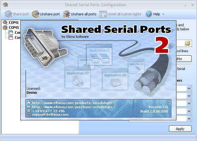 Serial Port Data
