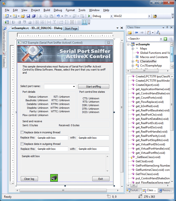 перехват текста из программы