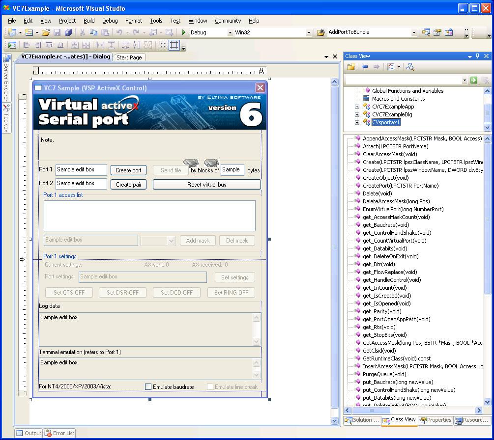 virtual com: