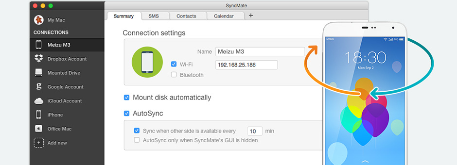Meizu suite for Mac