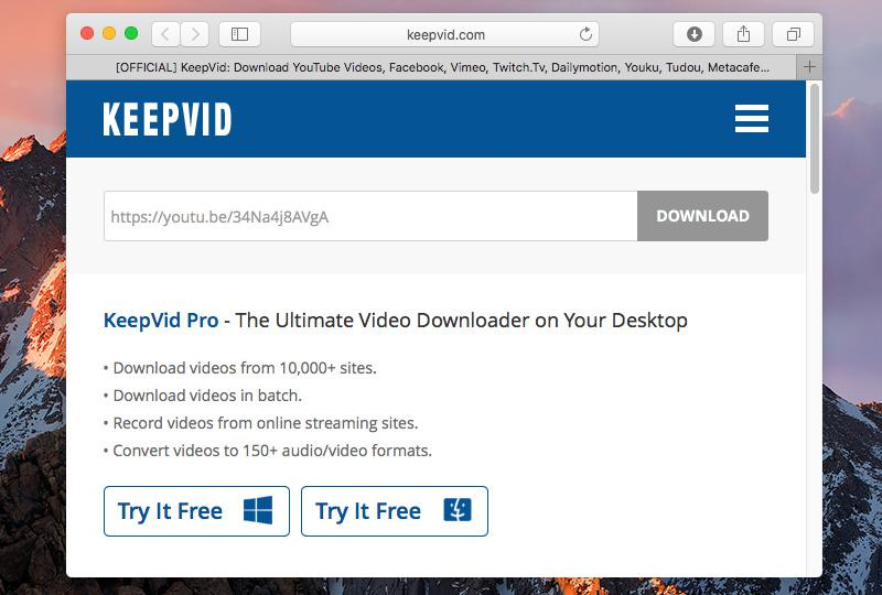 Top 8 online youtube downloaders for mac offers some advanced features for exceptional youtube downloading experience keepvid has a vast media database of over a million videos on youtube and ccuart Images