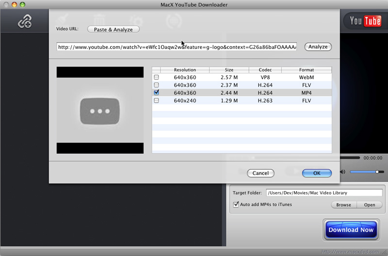 Get know about the best free youtube downloader mac os x