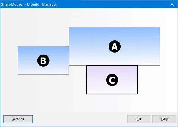 ShareMouse Monitor Manager