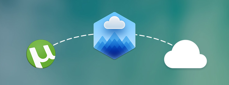 Torrent to cloud