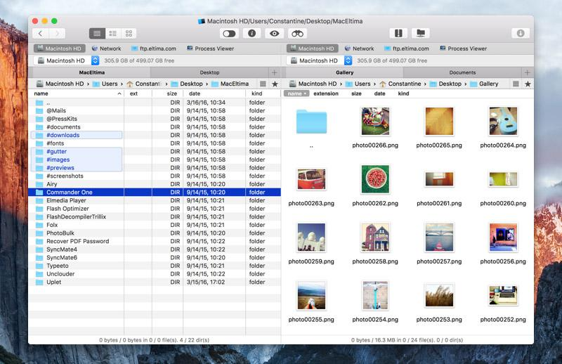 File manager for Mac