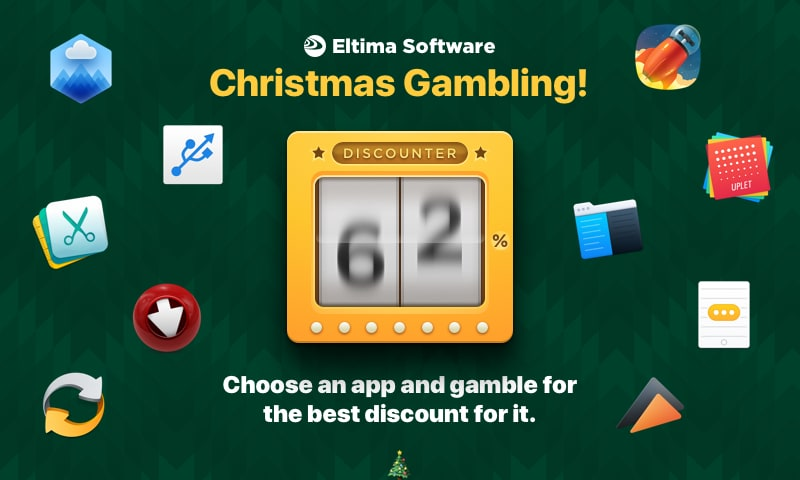Eltima Software launches the Christmas Slot Machine Promo Image