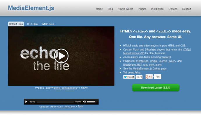 List of the best HTML5 video players you should use