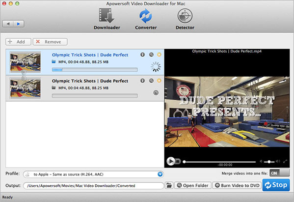 Apowersoft Video Downloader for Mac