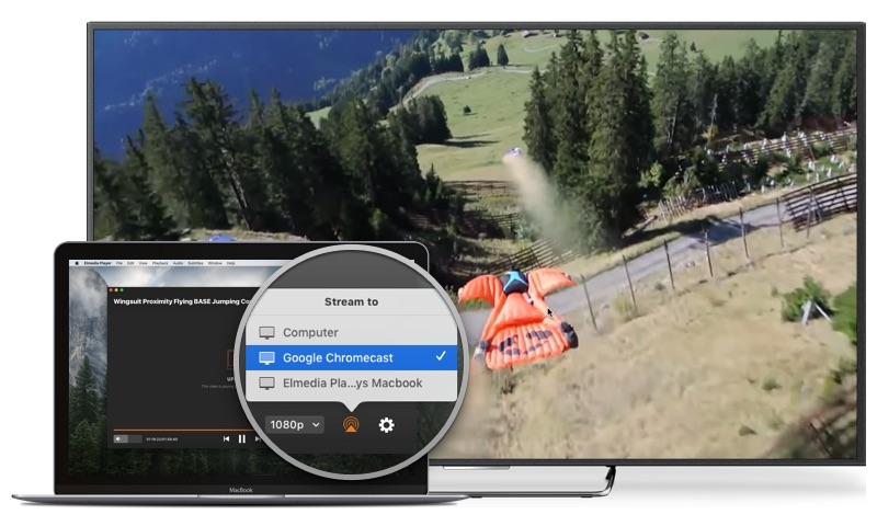 How to cast local video and audio from Mac to Chromecast