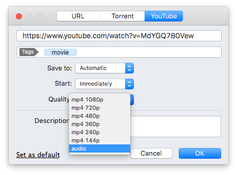 Easy ways to download sound from YouTube