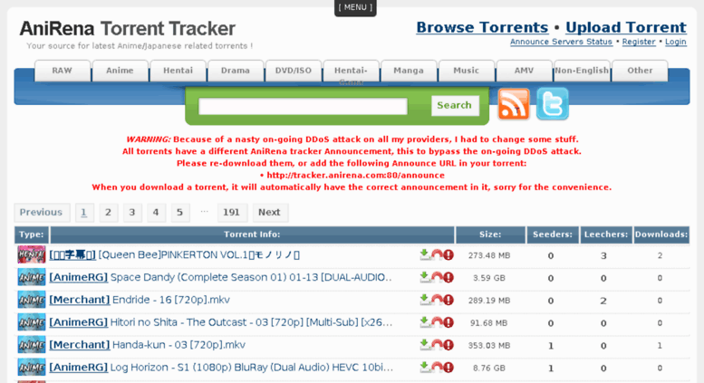 Bittorrent hentai raw site tracker