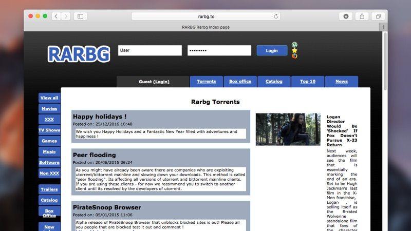 Rarbg.com torrent