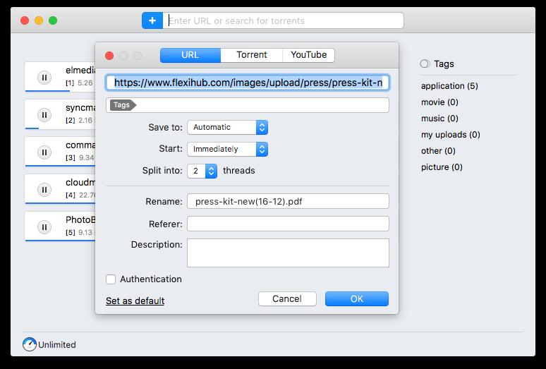 downloading pdf files on mac
