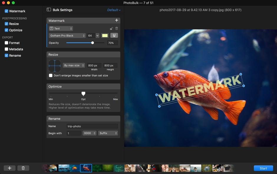Top Mac-Apps zum Bearbeiten mehrerer Bilder