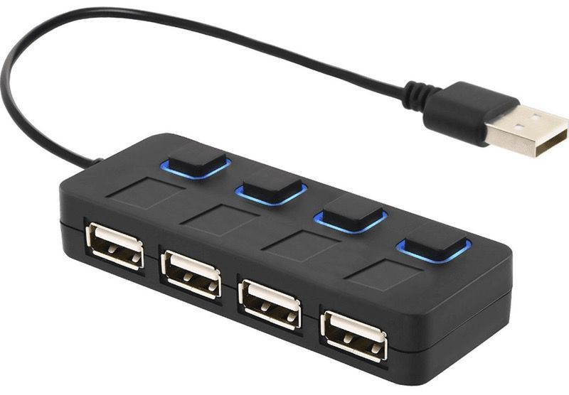 Interruttore USB