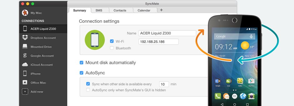 AcerSync for Mac is finally here