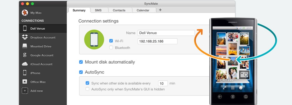 Android Dell suite for Mac
