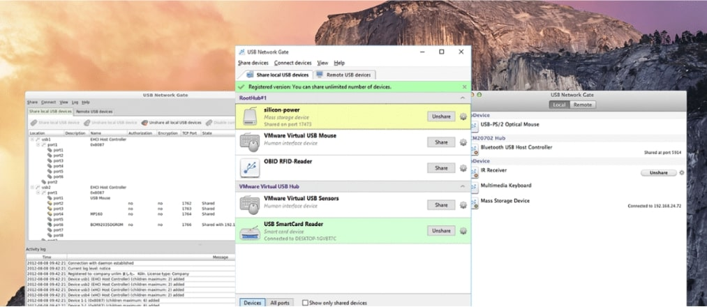 Software para compartir cámaras web para sistemas operativos Windows, Mac y Linux