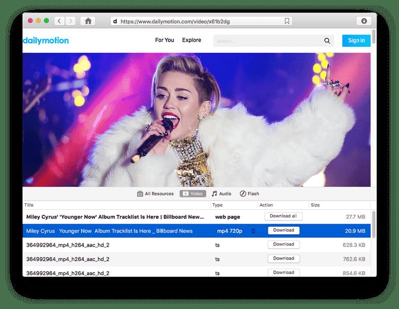 dailymotion video downloader mac