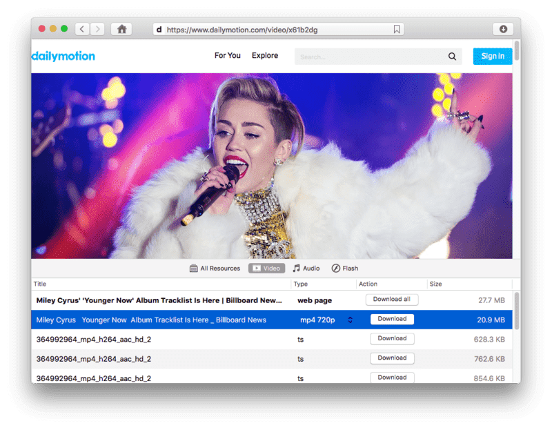 Dailymotion video downloader for mac