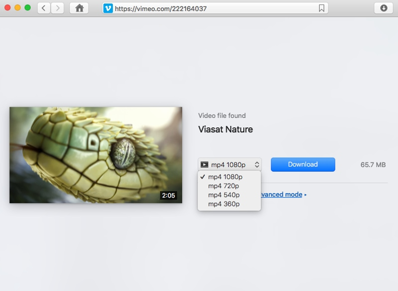Ddownload Vimeo videos on Mac
