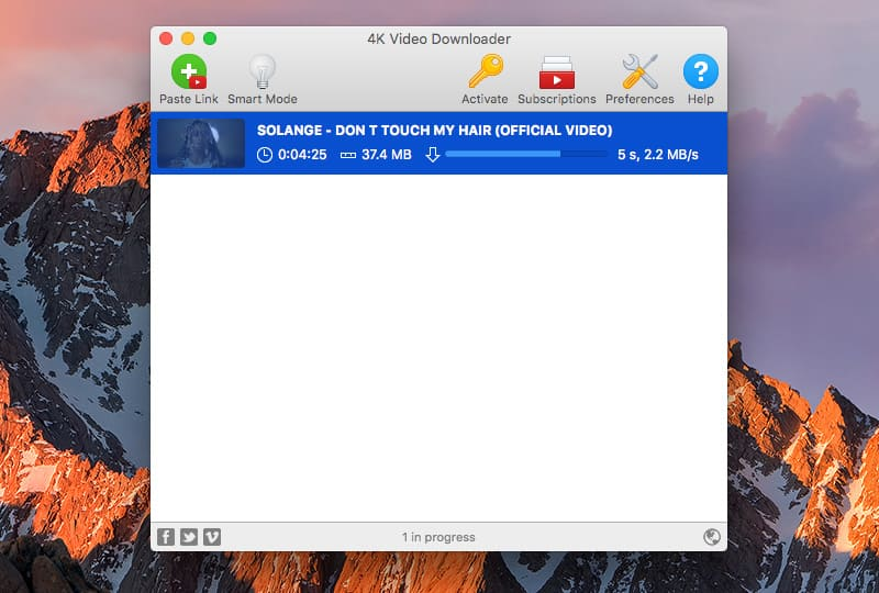 List of 8 fastest video downloaders for Mac