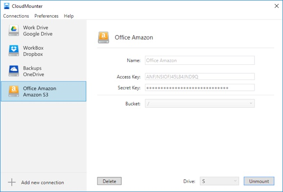 CloudMounter for Windows | Manage multiple cloud storages on PC