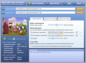 Click to view SWF Video Converter 3.0 screenshot