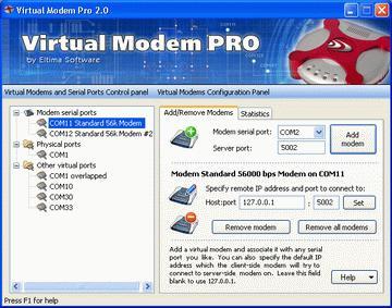 Virtual Modem PRO 3.0